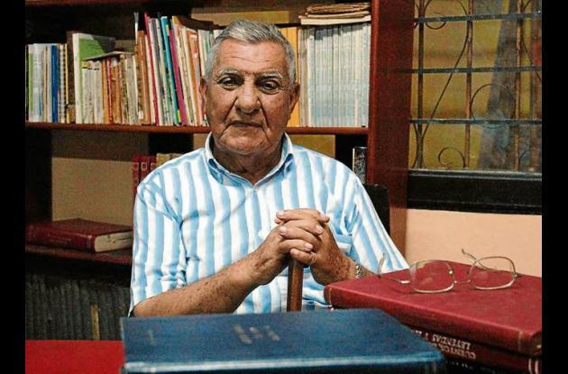 El escritor Antonio Botero Palacio