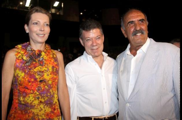 Personajes en el Festival Internacional de Cine