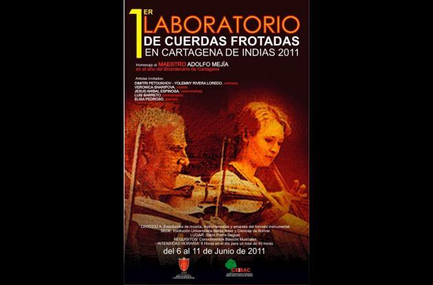 Afiche de uno de los eventos de este festival.