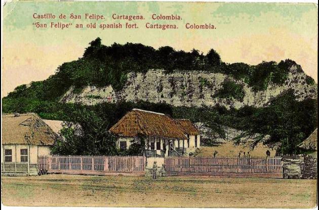 Castillo de San Felipe, principios  del Siglo XX.