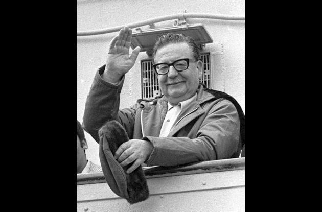 Salvador Allende en 1971