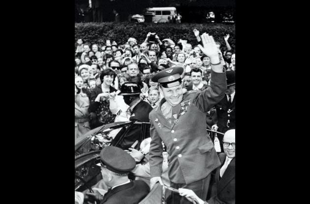 conquista del espacio por Gagarin hace 50 años