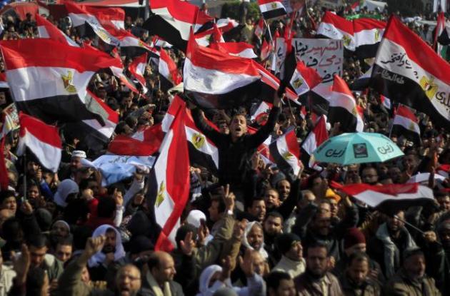 Egipto celebró aniversario de revuelta y caída de Hosni Mubarak