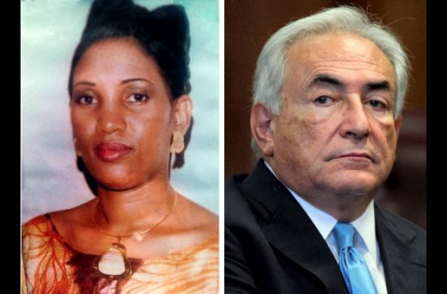 Nafissatou Diallo y Dominique Strauss-Kahn