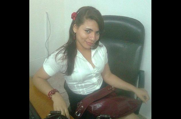 Katty Fonseca sufrió un accidente de tránsito hace un mes en Cartagena.