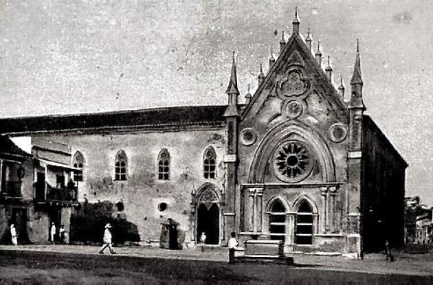 Claustro e Iglesia de San Diego.