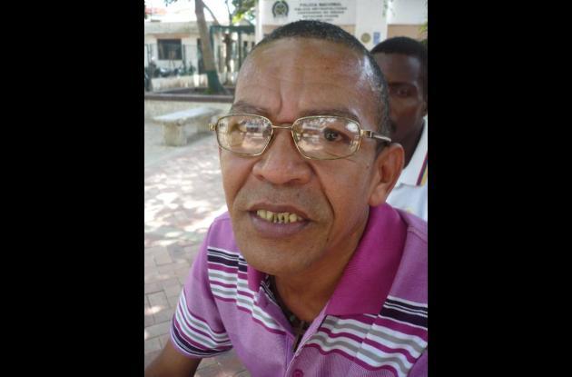 Wilmer Matos, gestor cívico.