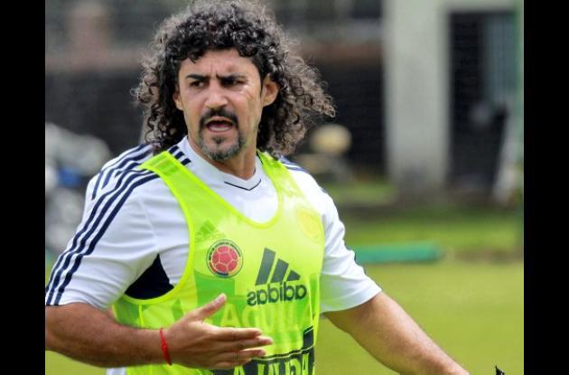 Leonel Álvarez fue encargado de forma interina de la Selección Colombia