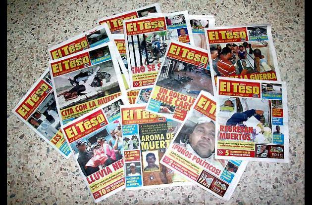 El periódico El Teso es uno de los más leídos en Cartagena y municipios aledaños