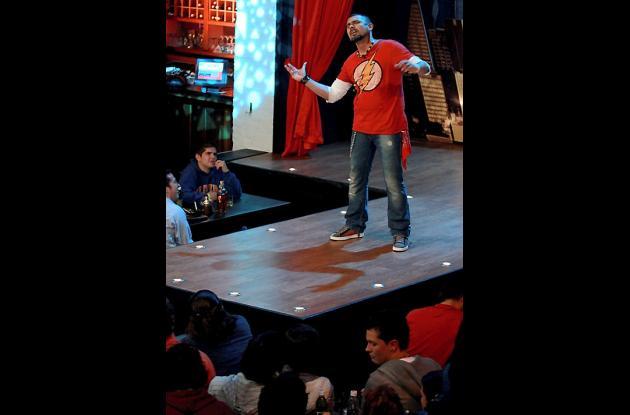 el comediante Diego Mateus.