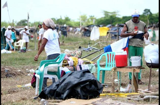 Población desplazada en Colombia
