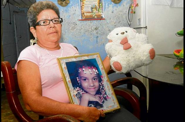 Karina Cabarcas Peñata, joven desaparecida.