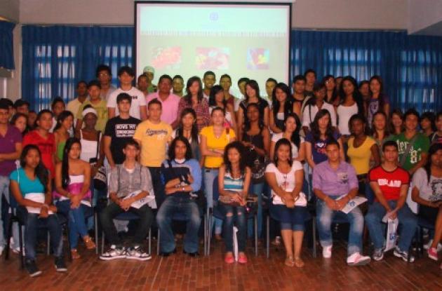 nuevos estudiantes en la Universidad Jorge Tadeo Lozano