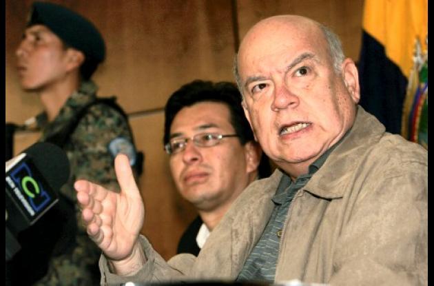 José Miguel Insulza, el secretario de la OEA