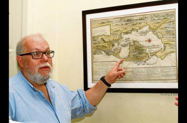 El escritor e investigador Hernando Bahamón Granados