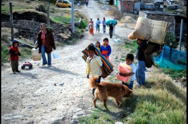 La permuta de tierras busca posibilitarles a los desplazados