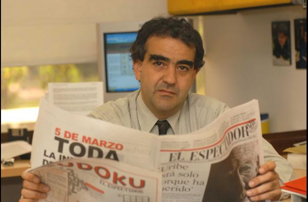 El director del periódico El Espectador, Fidel Cano.