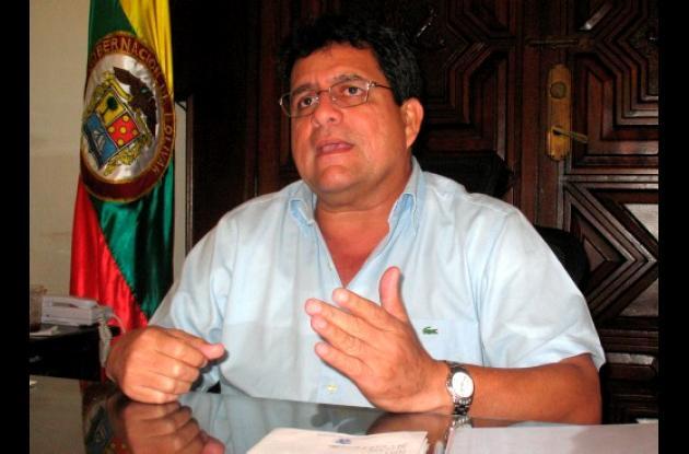 Alberto Bernal, gobernador de Bolívar