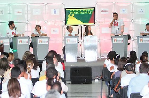 Debate organizado por la Alianza Cartagena Propone