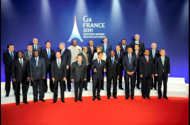 Líderes de la cumbre del G8