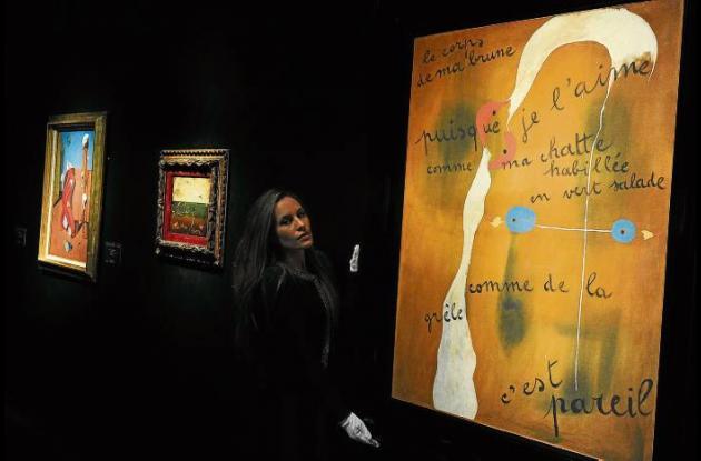 Mural de Joan Miró.