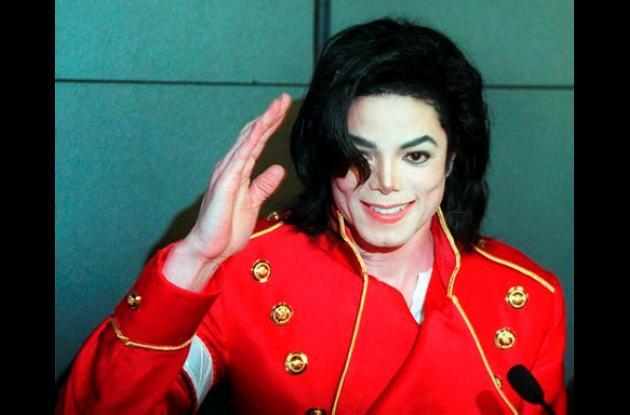 Michael Jackson, en París en 1996.
