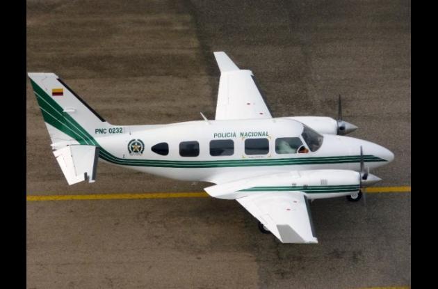 Accidente aéreo deja cinco policías muertos en Antioquia.