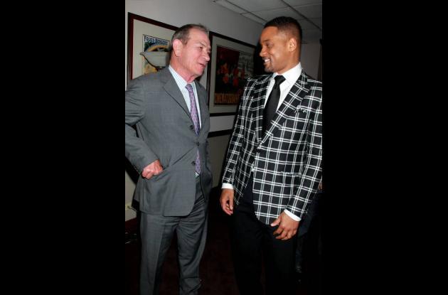 Will Smith y Tommy Lee Jones, protagonistas de Hombres de negro 3.
