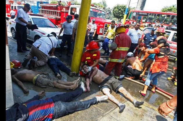 26 muertos por incendio en centro de rehabilitación en Perú