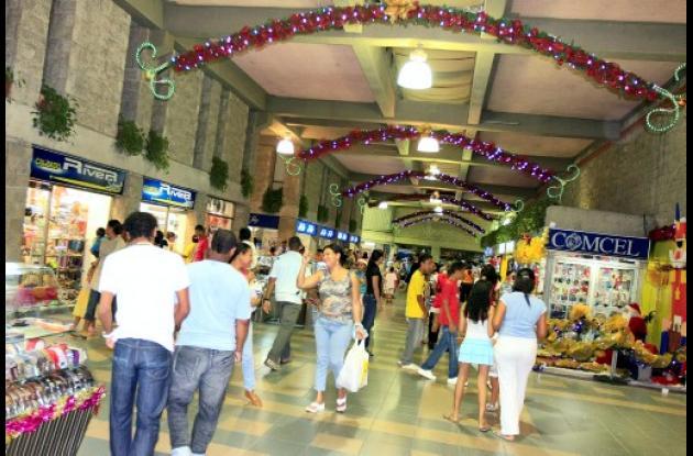 Decoración navideña en Centros Comerciales