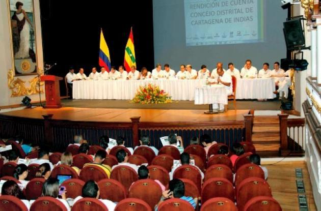 Sesión del Concejo Distrital