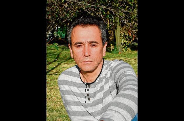 El escritor Evelio Rosero.