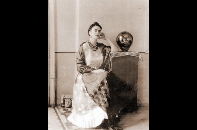 Frida Kahlo en el lente de Leo Matiz.