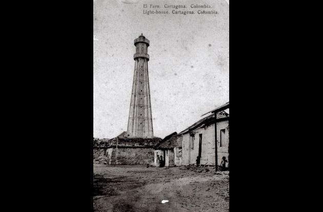 Faros antiguos en Cartagena