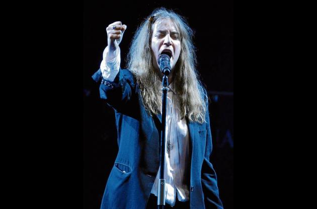 La rockera neoyorquina Patti Smith