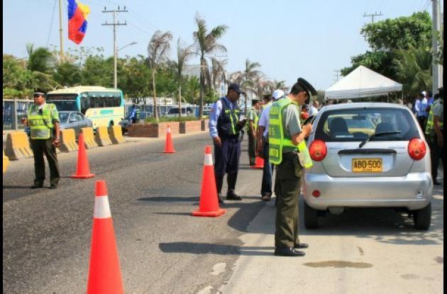 Los agentes de tránsito de la Policía impartirán comparendos educativos hasta el 15 de junio.