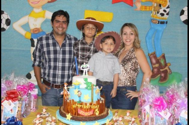 Cumpleaños de Jorge Andrés