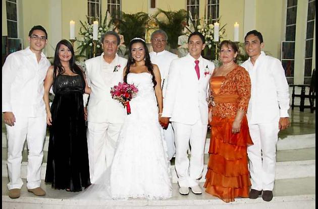 Matrimonio Claudia Andrade y Armando José Saénz