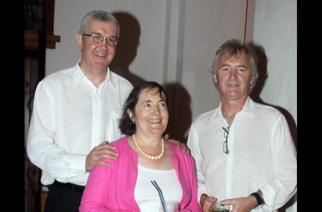 Coctel a escritores y personalidades que asisten al Hay Festival