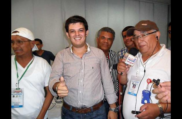 Alejandro Lyons Muskus, gobernador electo de Córdoba.