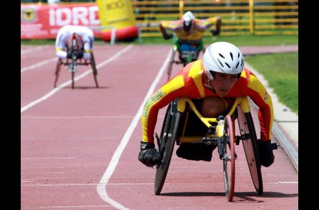 Entre las competencias se cuentan los Paralímpicos Nacionales