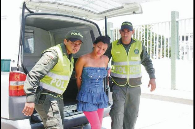 Leydy Katherine Rincón Vergara fue asegurada por el delito de secuestro agravado