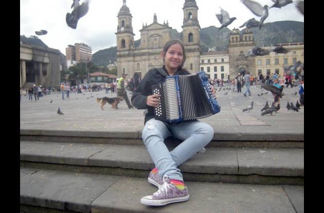 Mélida Galvis, reina infantil del 45° Festival de la Leyenda Vallenata
