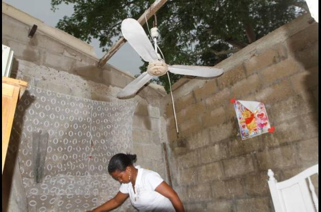 Casas sin techo en Colombiatón
