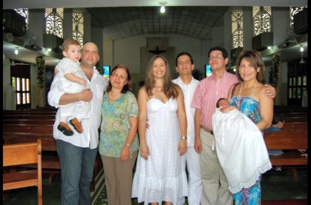 Bautizo de Juan y Sofía Mendoza