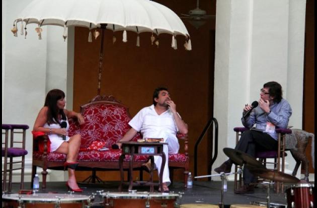 María Jimena Duzán, Cristian Alarcón y Pablo Ordaz.