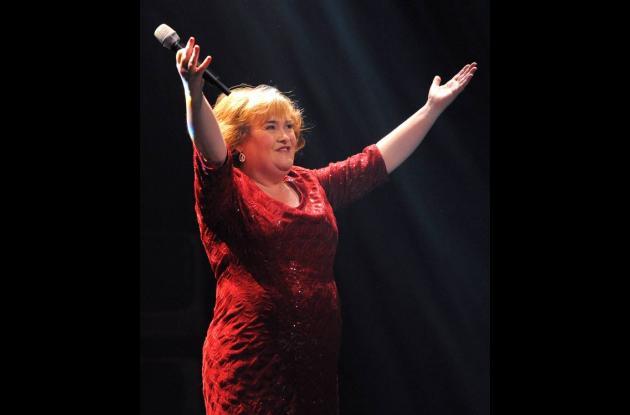 Susan Boyle  en el musical