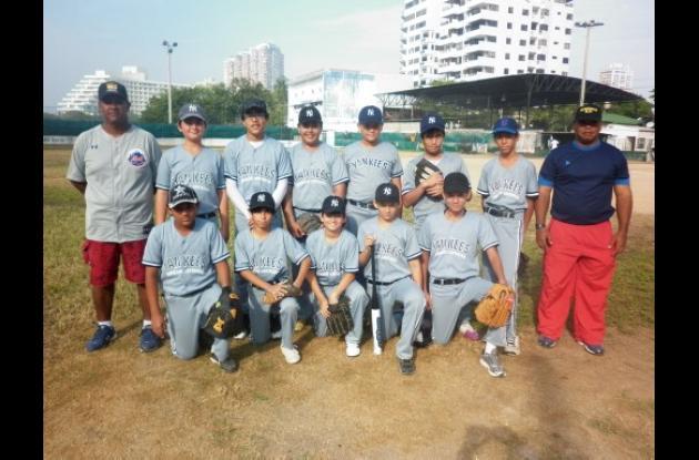 Aspaen Gimnasio Cartagena, novena que participa en la categoría infantil.