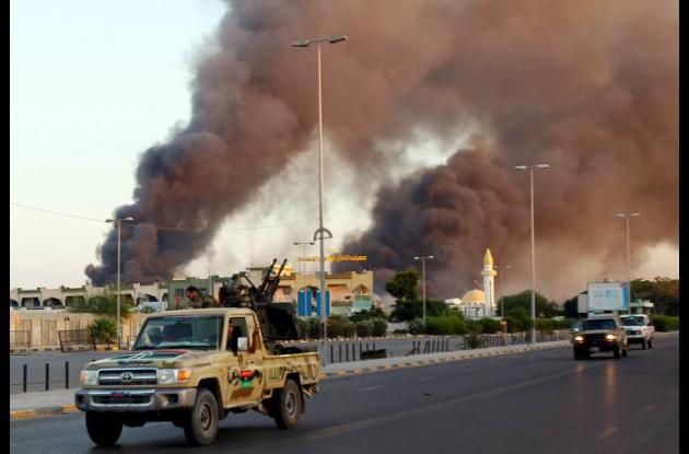 Combates en Libia entre tribus