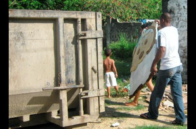 Se recolectaron inservibles en los barrios de San Isidro (parte baja), La Conqui